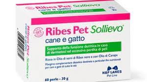 RIBES PET SOLLIEVO 60 PERLE Cani