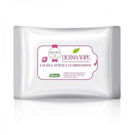 NATURAL DERMA PET SALVIETTE DERMA WIPE Cani