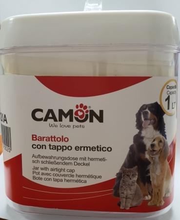 BARATTOLO CON TAPPO ERMETICO Gatti