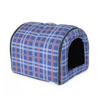 CAMON CANE E GATTO TUNNEL IN TESSUTO SCOTTISH BLU Cani