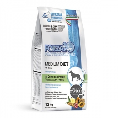 FORZA 10 MEDIUM DIET CERVO E PATATE Cani