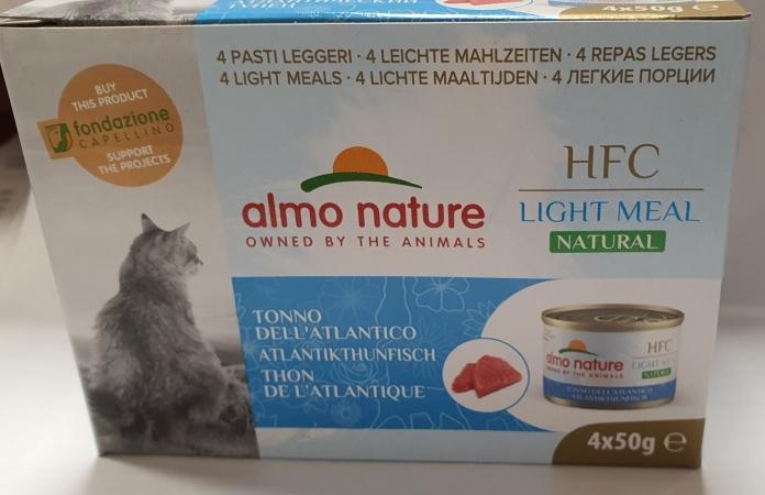 HFC NATURAL LIGHT MEAL CAT TONNO DELL'ATLANTICO Gatti