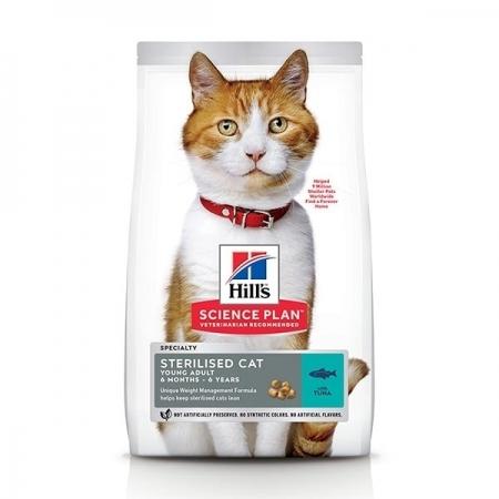 SCIENCE PLAN ADULT STERILISED CAT CON TONNO Gatti