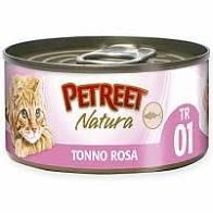 PETREET NATURA TONNO ROSA Gatti