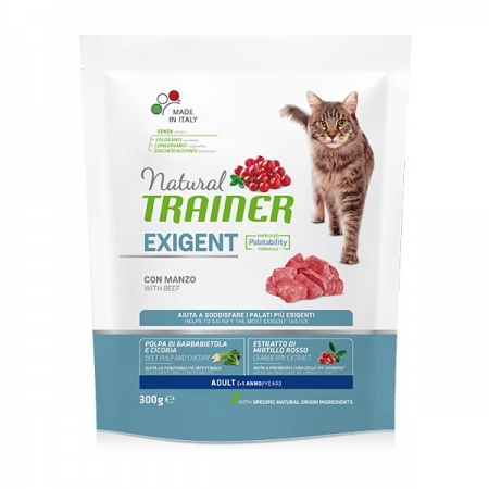 TRAINER  NATURAL CAT EXIGENT ADULT CON MANZO Cani