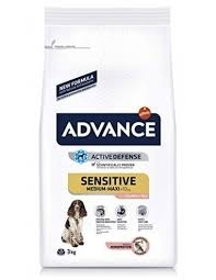 SENSITIVE MEDIUM MAXI SALMONE E RISO Cani