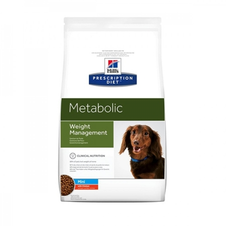 PRESCRIPTION DIET METABOLIC CANINE MINI WEIGHT MANAGEMENT  KG 1,5 KG 6 Cani