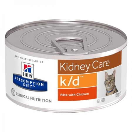 PRESCRIPTION DIET K/D RENAL HEALTH PATÈ CON POLLO Gatti