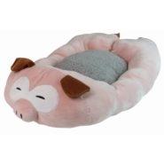 FLUFFY RELAX PIG PET BED 75cm Gatti