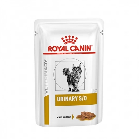 VETERINARY DIET URINARY S/O CON POLLO MORSELS IN GRAVY Gatti