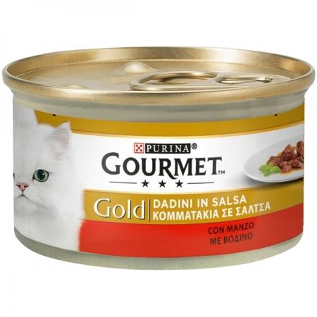 GOURMET GOLD DADINI IN SALSA CON MANZO Gatti