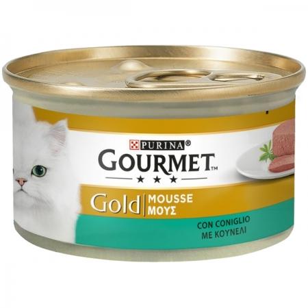 GOURMET GOLD MOUSSE CON CONIGLIO Gatti