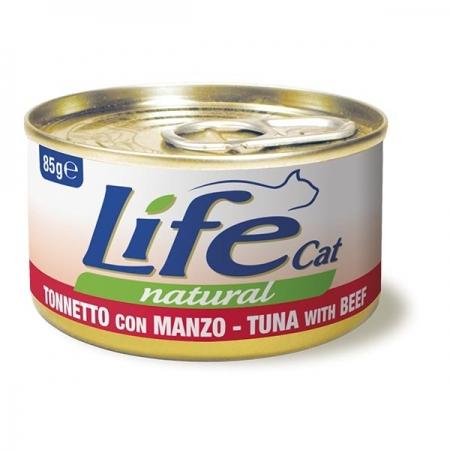 LIFE CAT NATURAL TONNETTO CON MANZO Gatti