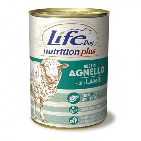 LIFE DOG NUTRITION PLUS AGNELLO Cani