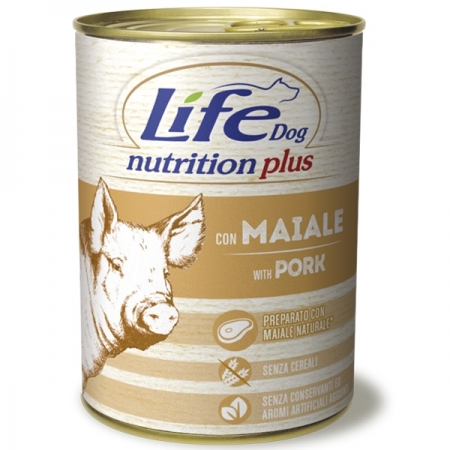 LIFE DOG NUTRITION PLUS MAIALE Cani