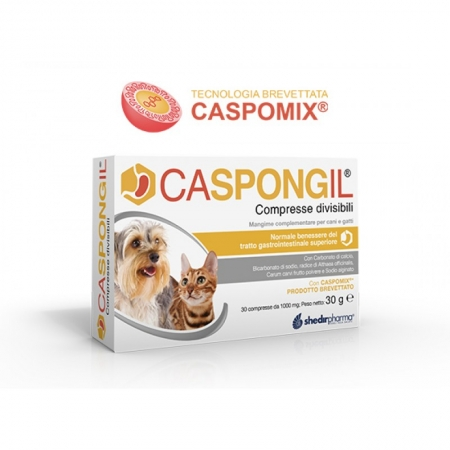 CASPONGIL 30 COMPRESSE Cani